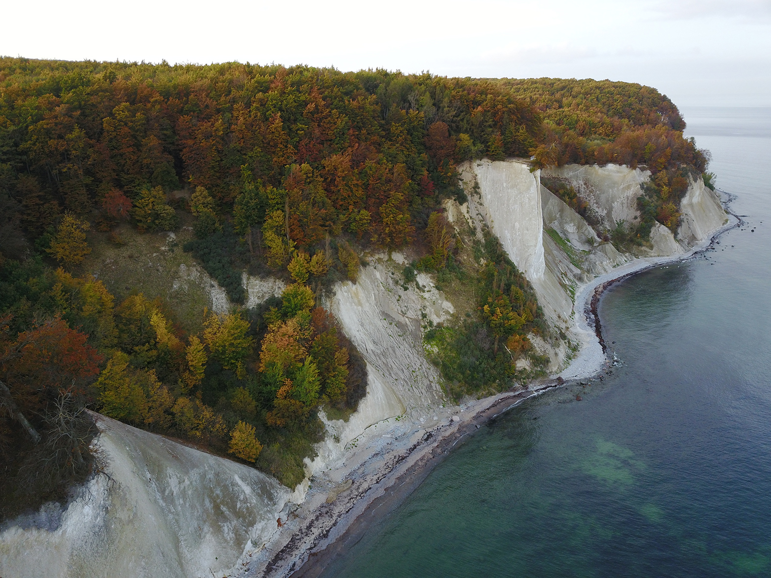 Failures of Germany's Largest Cliff Coast Sensed by Seismometers